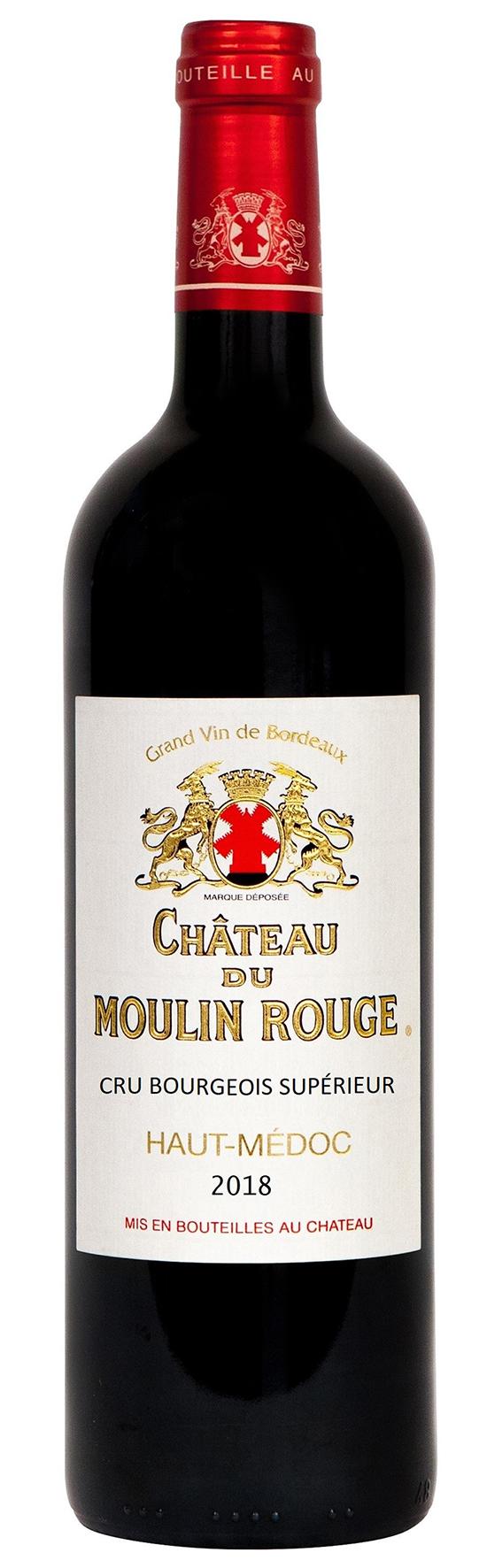 Chateau Du Moulin Rouge Cru Bourgeois Supèrieur 2018